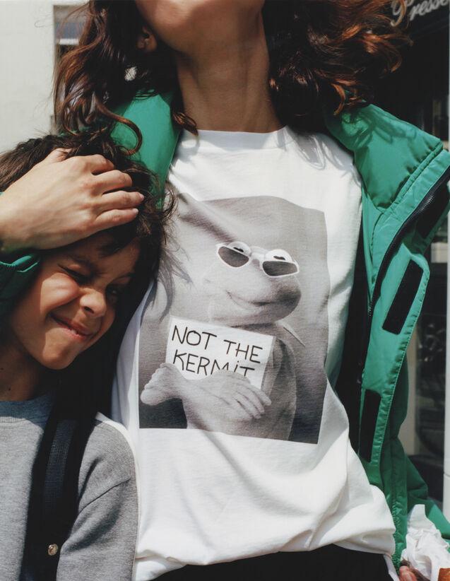 산드로 산드로 Sandro X The Muppet Show T-shirt,White