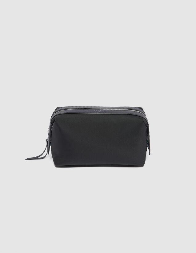 산드로 산드로 산드로 Sandro Toiletry bag,Black