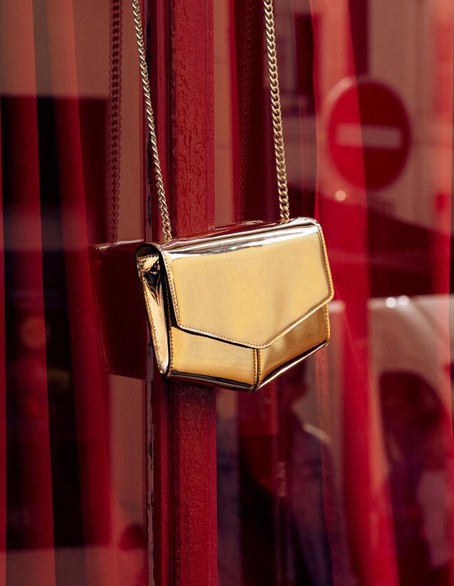 산드로 루백 Oupm Sandro Lou Bag, Small Model,Gold