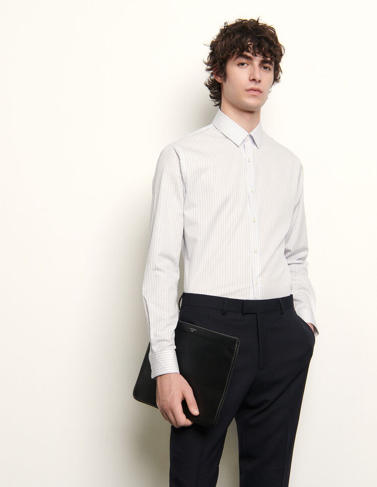 Sandro Formal shirt with stripes
