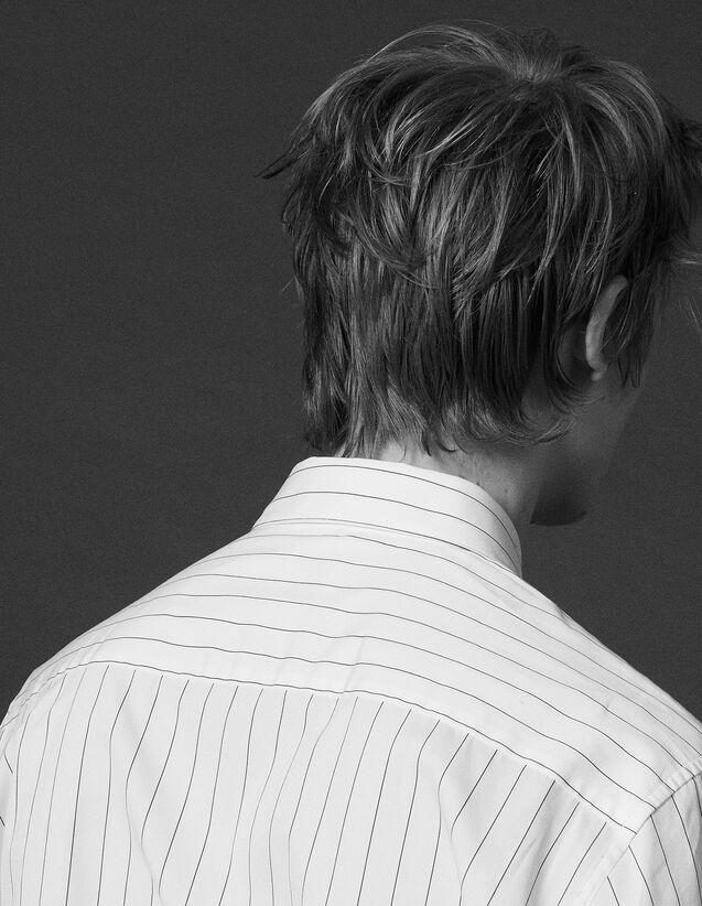 산드로 Sandro Striped shirt,White