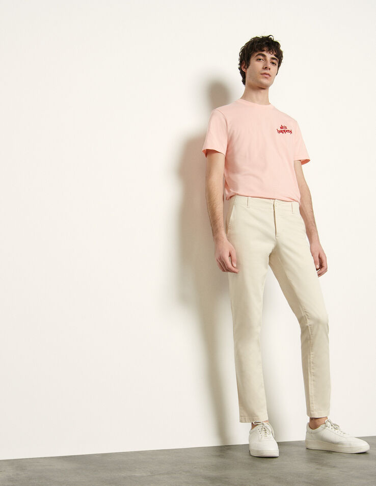 Sandro Chino pants in stretch cotton
