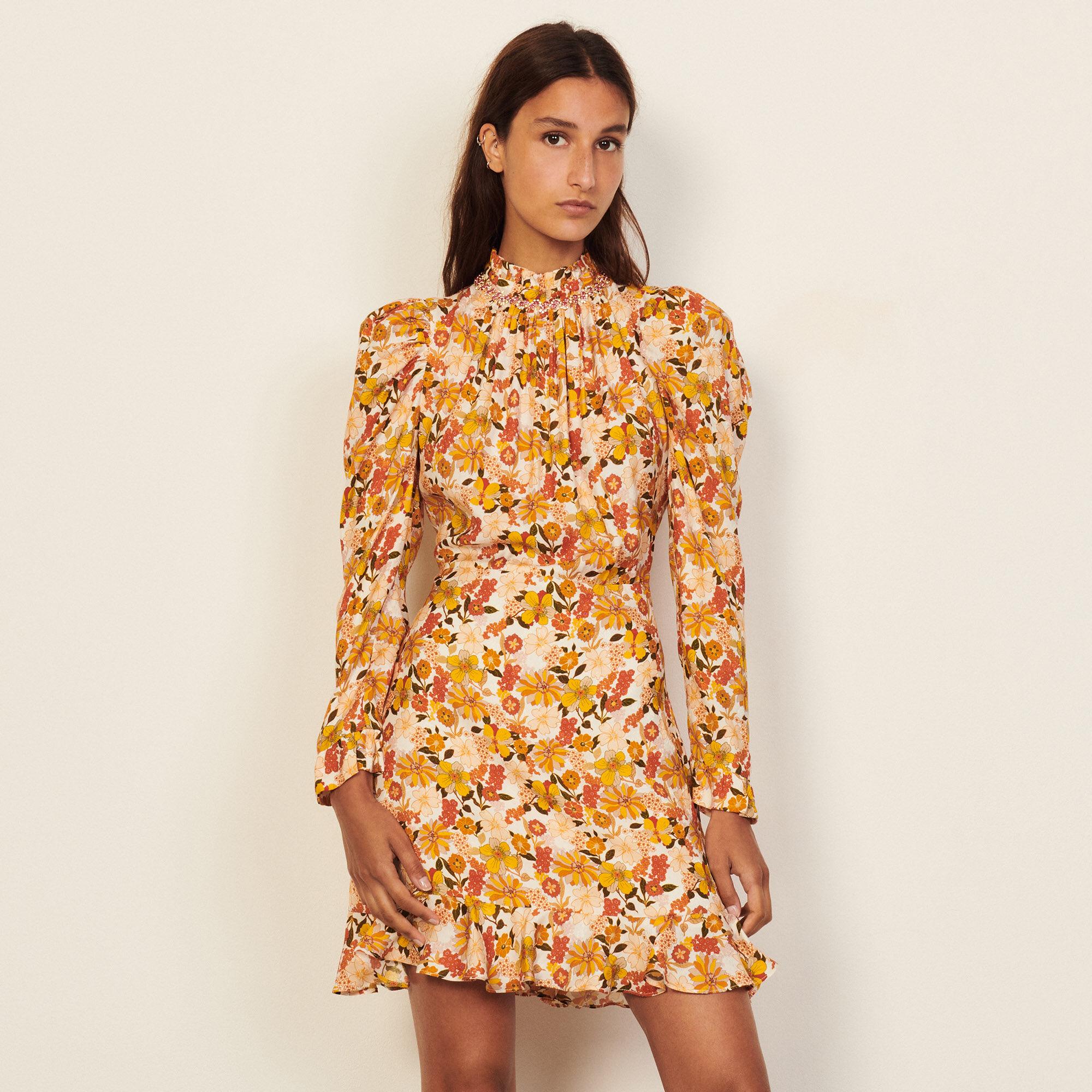 Sandro Shop printed dress