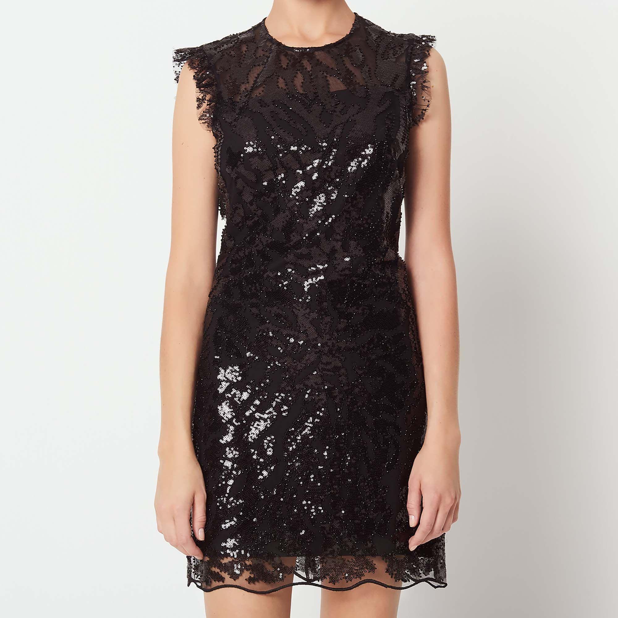 Backless Sequin Dresses