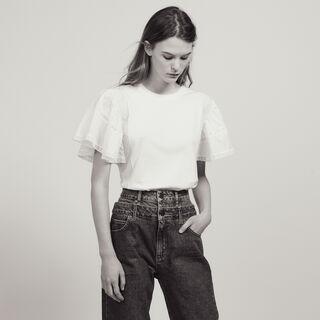 Acarie, white, hi-res, | sandro-paris.com