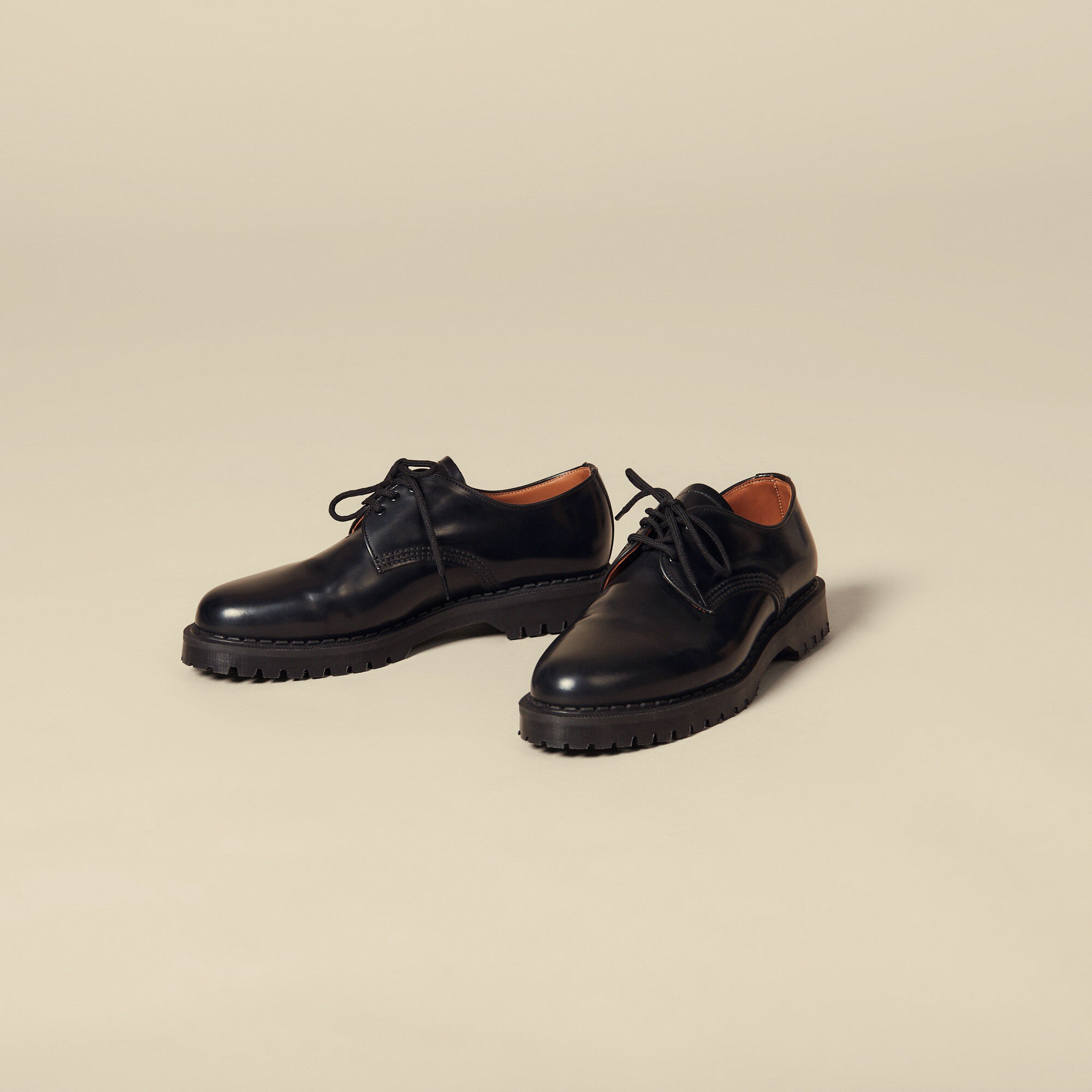 Derby shoe with studs - Shoes | Sandro