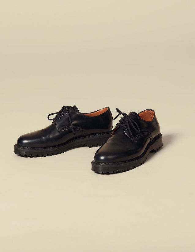 Derby shoe : Spring Pre-Collection color Black