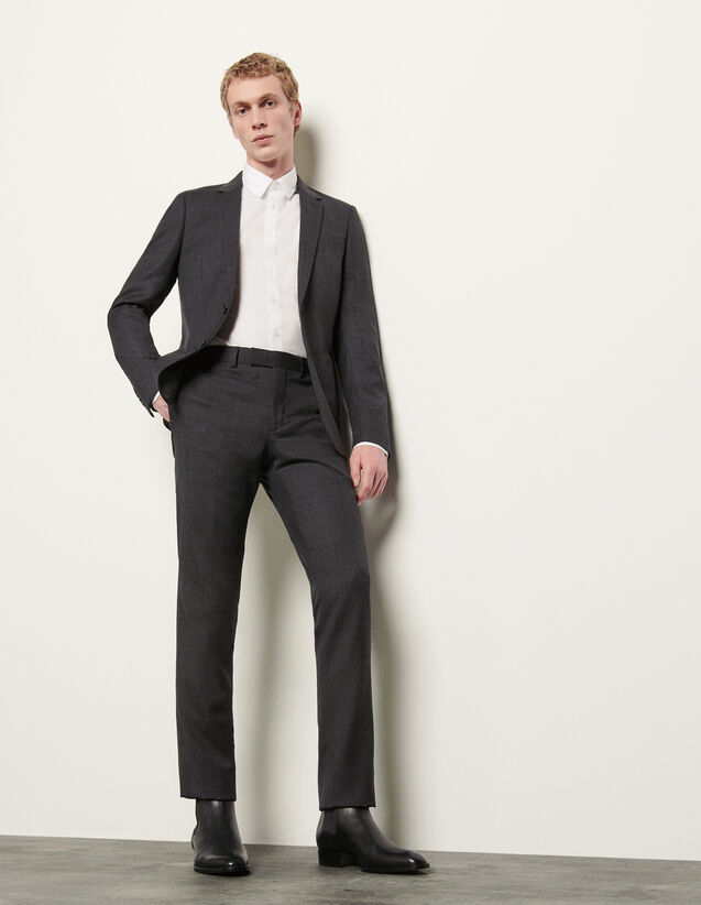 Suit pants : Spring Pre-Collection color Mocked Grey