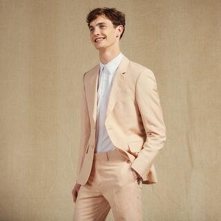 Linen, Light Pink, hi-res, | sandro-paris.com