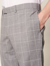 Classic Super 120 Suit Pants : Suits & Blazers color Light Grey