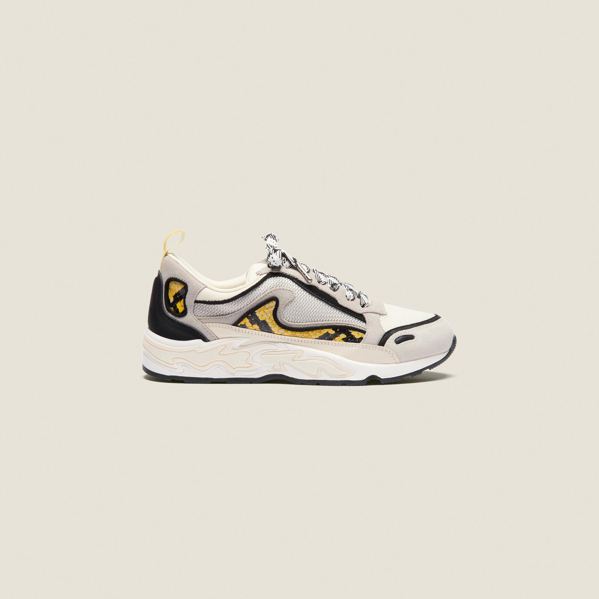 Flame sneakers - Sneakers   Sandro Paris