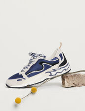 Flame sneakers : Spring Pre-Collection color Deep Navy