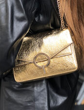Full gold yza bag, small model : Bags color Full Gold