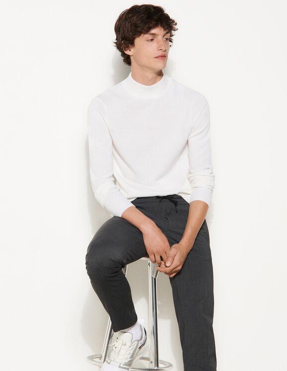 Sandro High-neck sweater