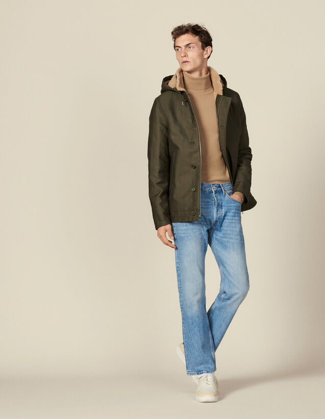 Deck Jacket Parka : Coats color Olive Green