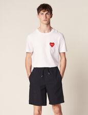 Drawstring Waist Bermuda Shorts : Pants & Jeans color Navy Blue