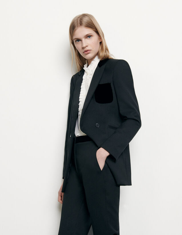Tailored jacket : Spring Pre-Collection color Black