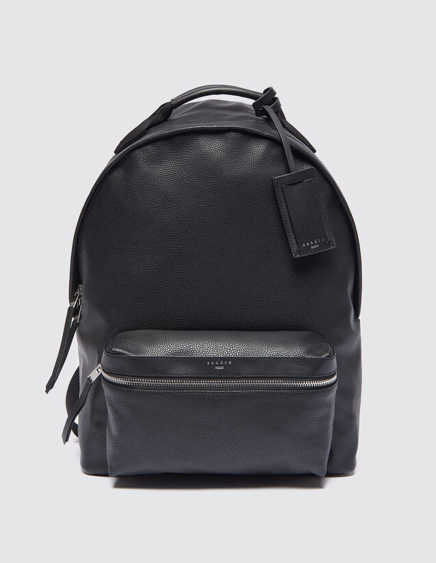Coated fabric backpack : Bags color Black