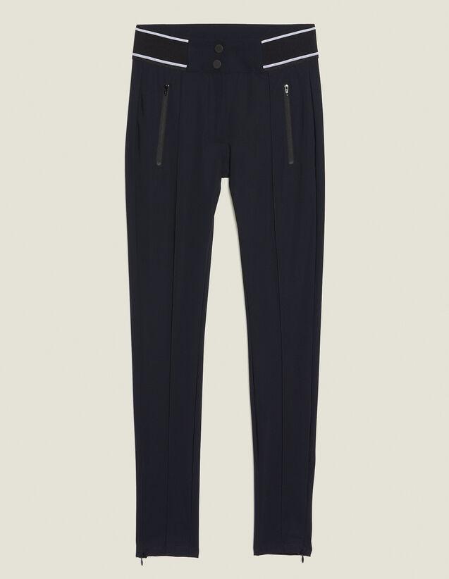 Leggings-Style Pants : Pants & Shorts color Black