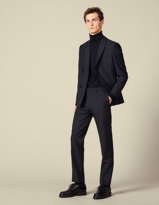 Classic suit pants : Suits & Blazers color Navy Blue