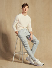 Wool Suit Pants : Suits & Blazers color Putty