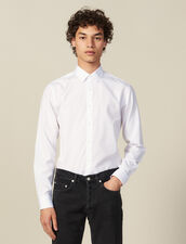 Non-iron shirt : Shirts color white