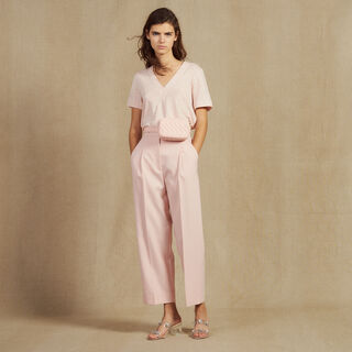 Ector, Light pink, hi-res, | sandro-paris.com