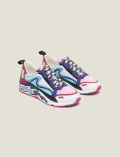 Flame Sneakers : Shoes color Miami