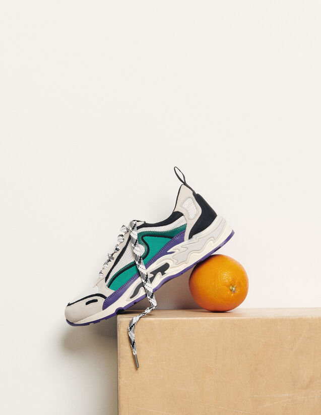 Sneakers with flames on the sole : Spring Pre-Collection color Purple