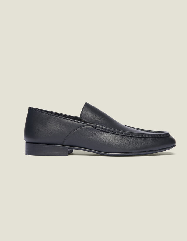 Leather Loafer : Shoes color Black