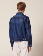 Washed Denim Jacket : Jackets color Blue Vintage - Denim