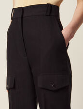 Cargo Pants : Pants & Shorts color Black