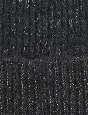 Lurex Beanie : Other Accessories color Black