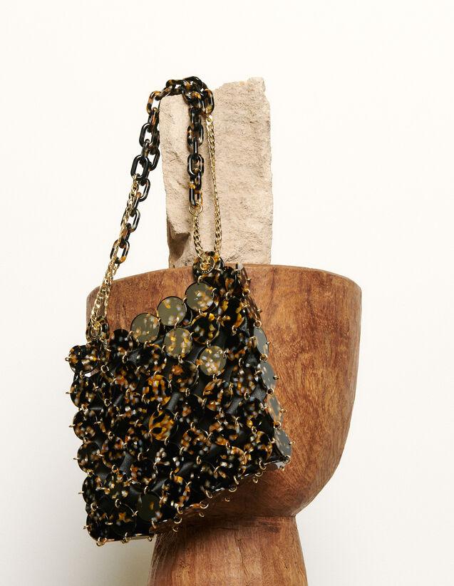 Pastille bag, large model : Spring Pre-Collection color Leopard
