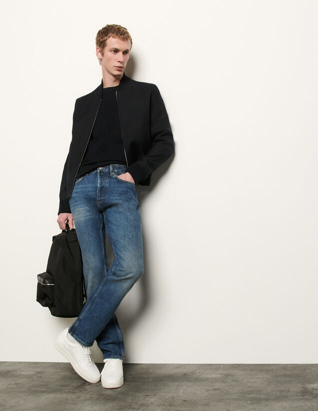 Washed denim : Spring Pre-Collection color Blue Vintage - Denim