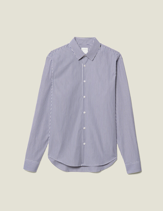 Striped Shirt : Shirts color Navy/White
