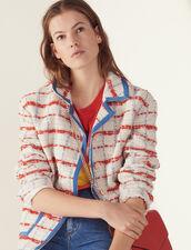 Tweed Blazer Jacket : Jackets color Multi-Color