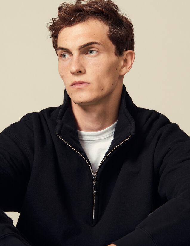Turtleneck Sweatshirt : Sweatshirts color Black