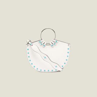 Lympe, white, hi-res, | sandro-paris.com