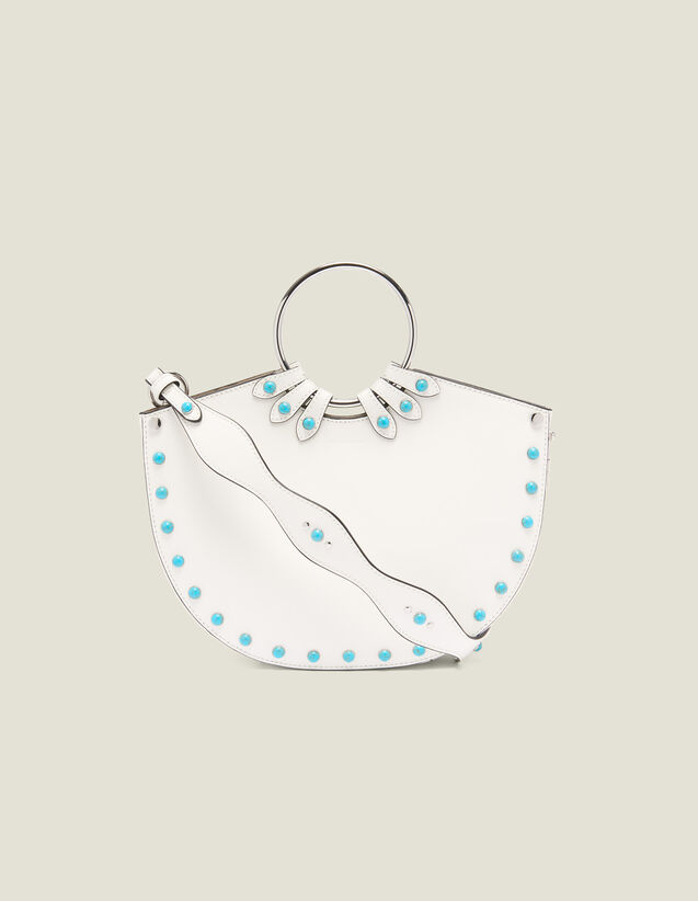 Ring Bag For Carrying Two Ways : Bags color white