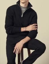 Turtleneck Sweater : Sweaters color Black