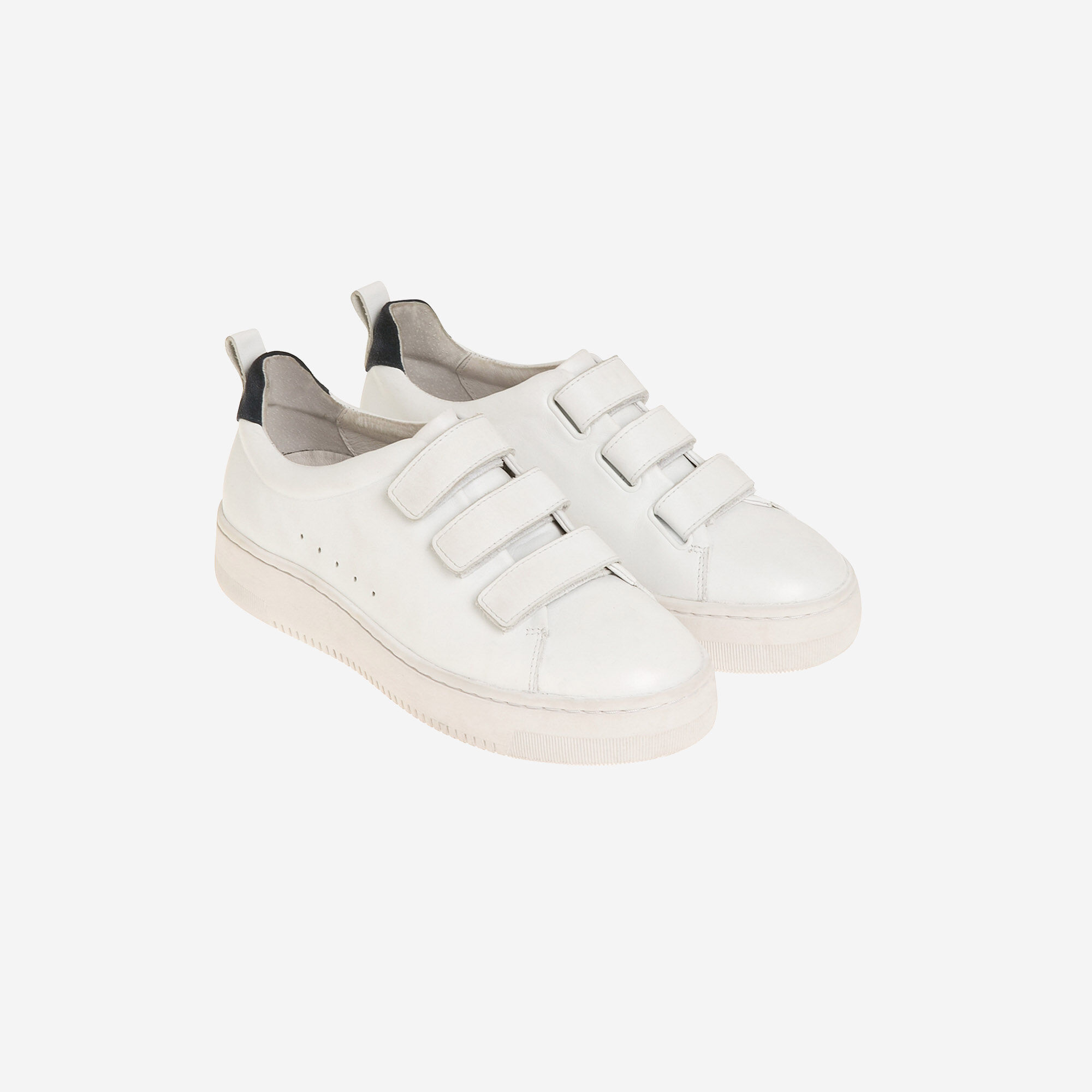 Leather Velcro sneakers - Sneakers