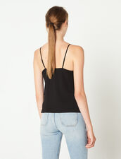 Top With Fine Straps : Tops & Shirts color Ecru