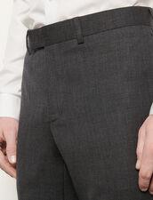 Suit pants : Suits & Blazers color Mocked Grey