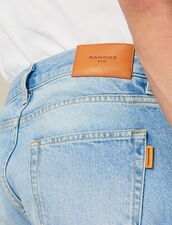 Washed Slim Jeans : Jeans color Blue Vintage - Denim