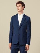 Classic Super 110 Suit Jacket : Suits & Blazers color Petrol