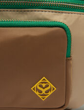 Fanny Pack In A Blend Of Materials : Bags color Camel