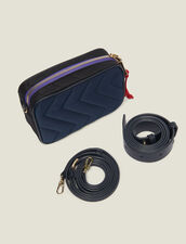 Quilted Nylon Fanny Pack : Bags color MARINE/NOIR