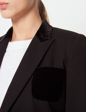 Tailored Jacket : Jackets color Black