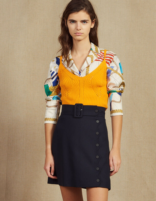 2828aaaa2a Tops & Shirts | Women | Sandro-paris.com
